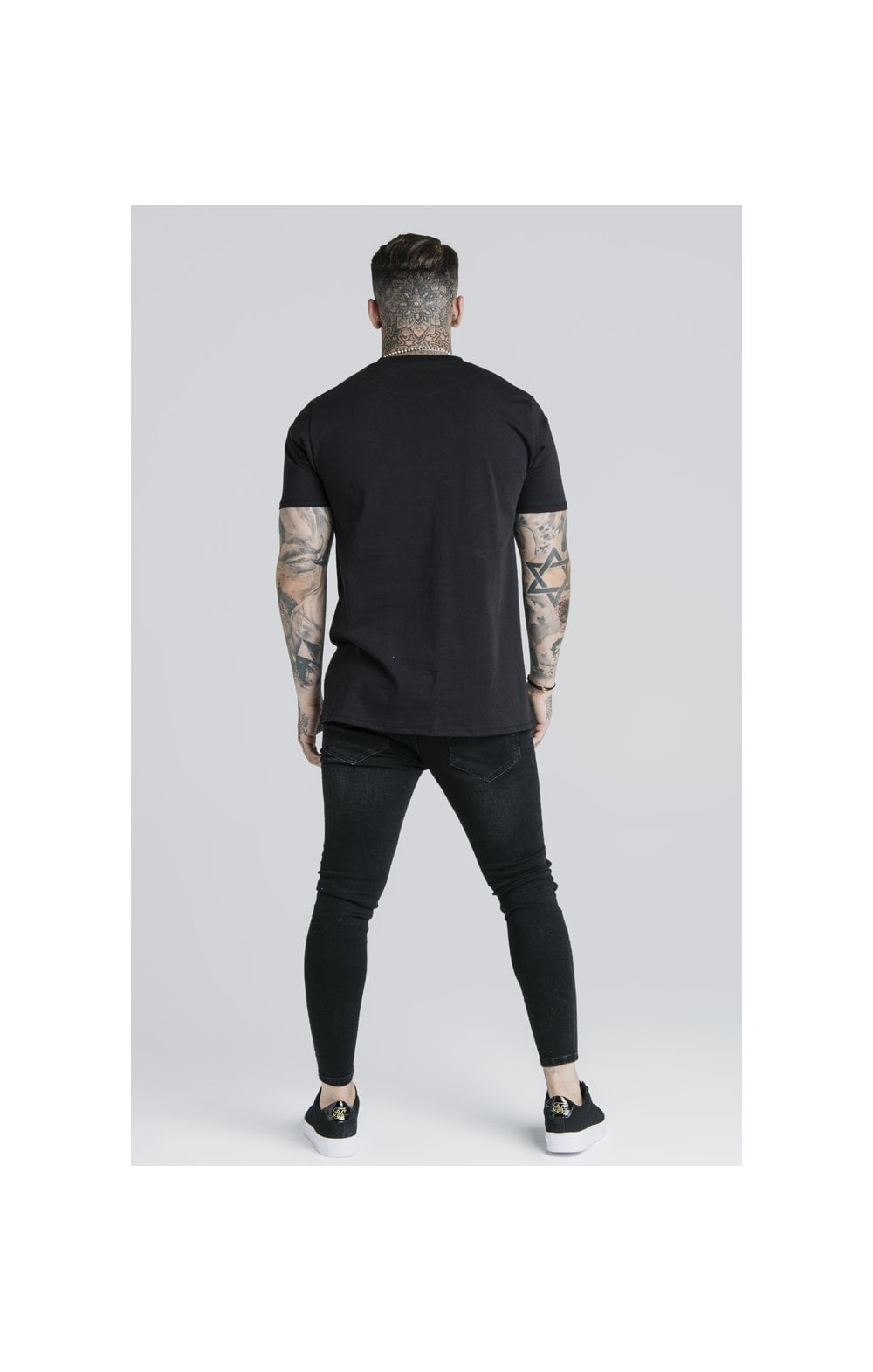 SikSilk S/S Basic Core Tee – Black (6)
