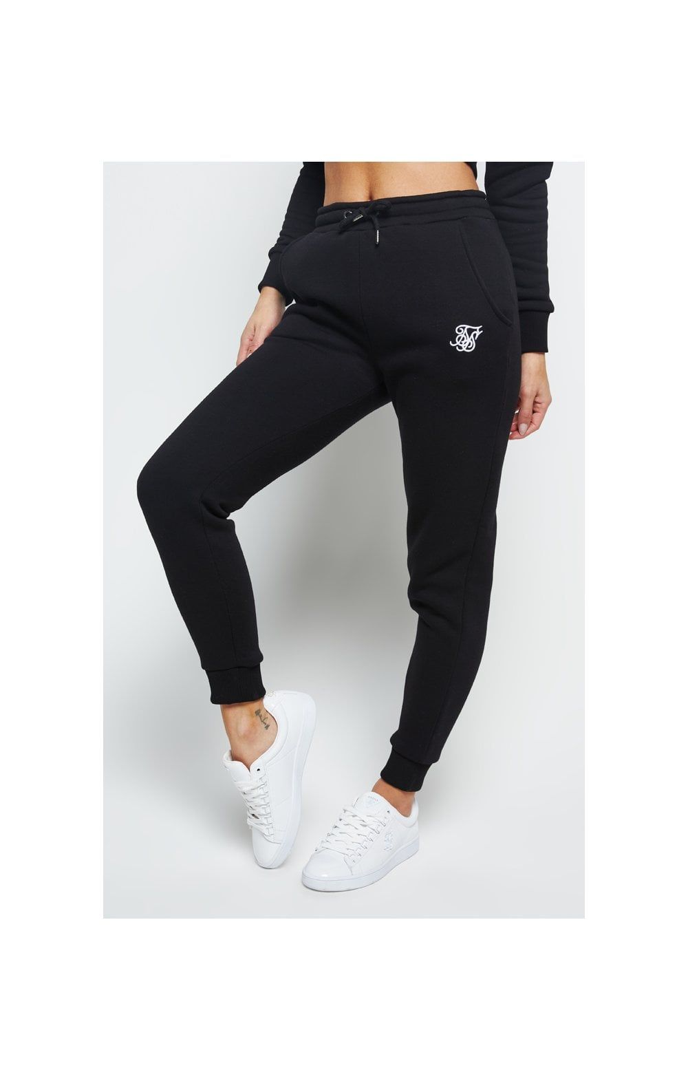SikSilk Track Pants – Black