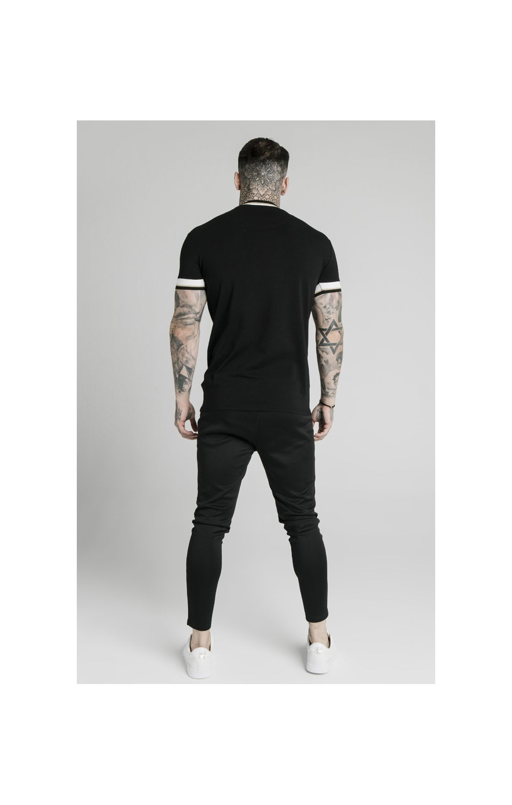 Load image into Gallery viewer, SikSilk S/S Deluxe Straight Hem Tee - Black (4)