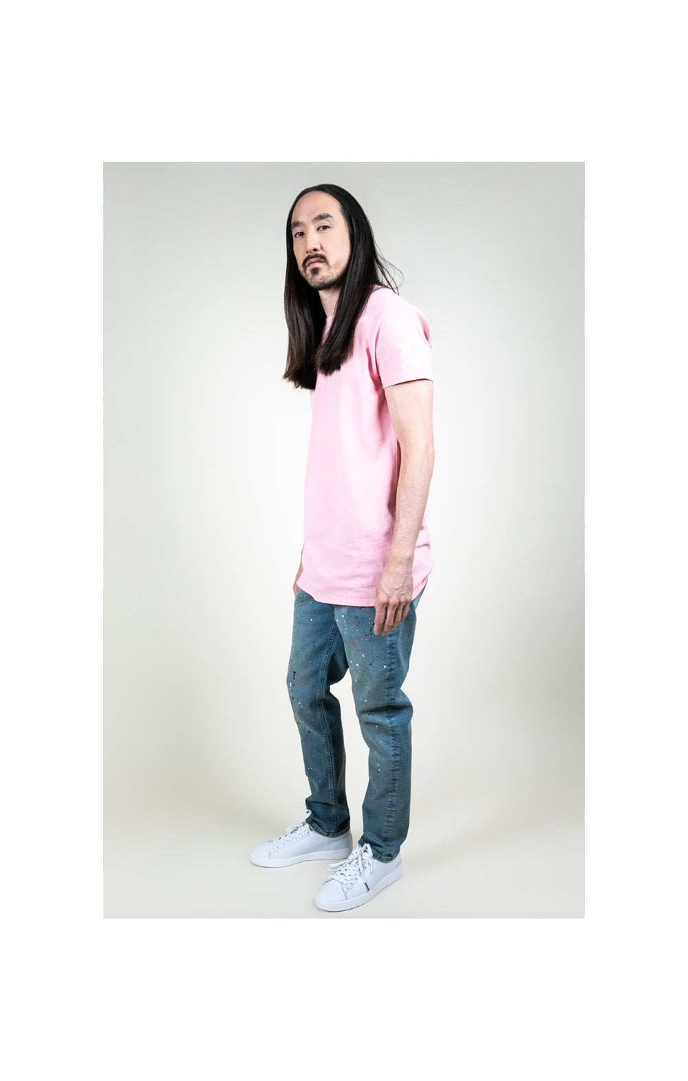Load image into Gallery viewer, SikSilk X Steve Aoki S/S Box Tee – Pink (4)
