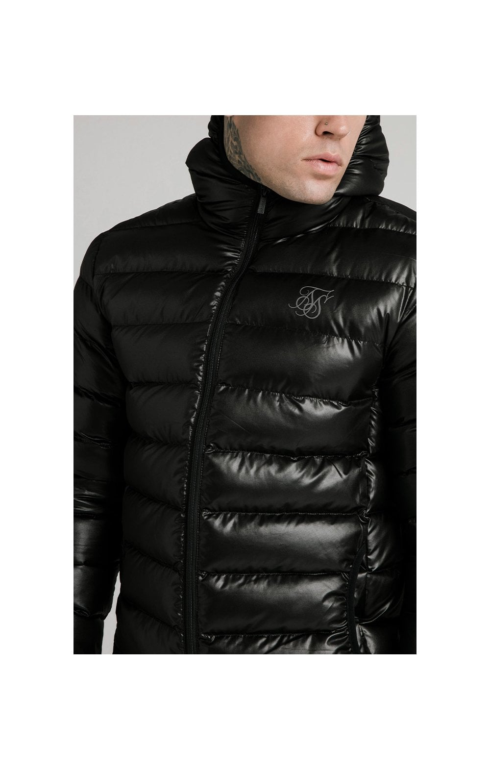 Load image into Gallery viewer, SikSilk Atmosphere Jacket - Black (1)