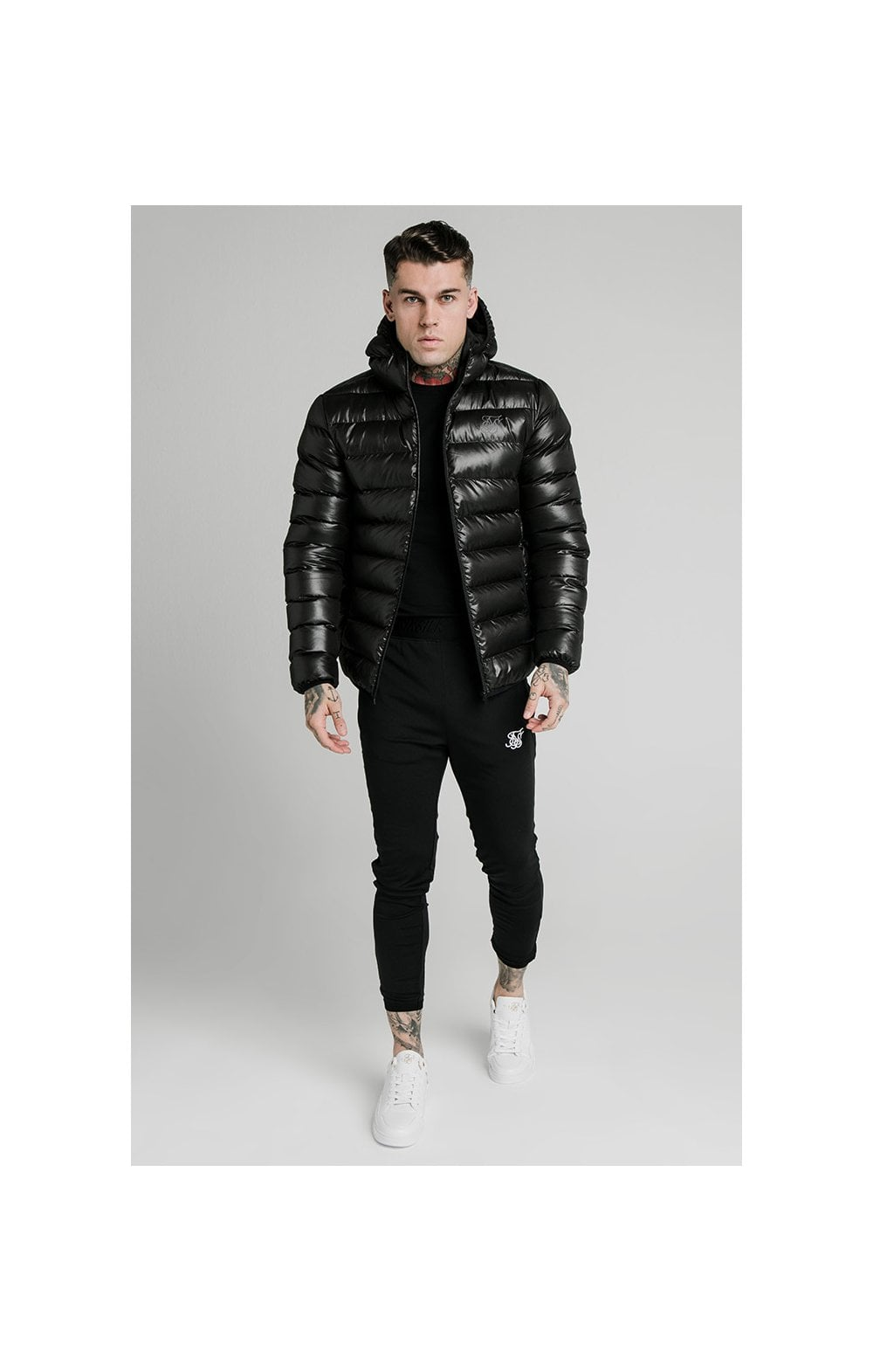 Load image into Gallery viewer, SikSilk Atmosphere Jacket - Black (3)