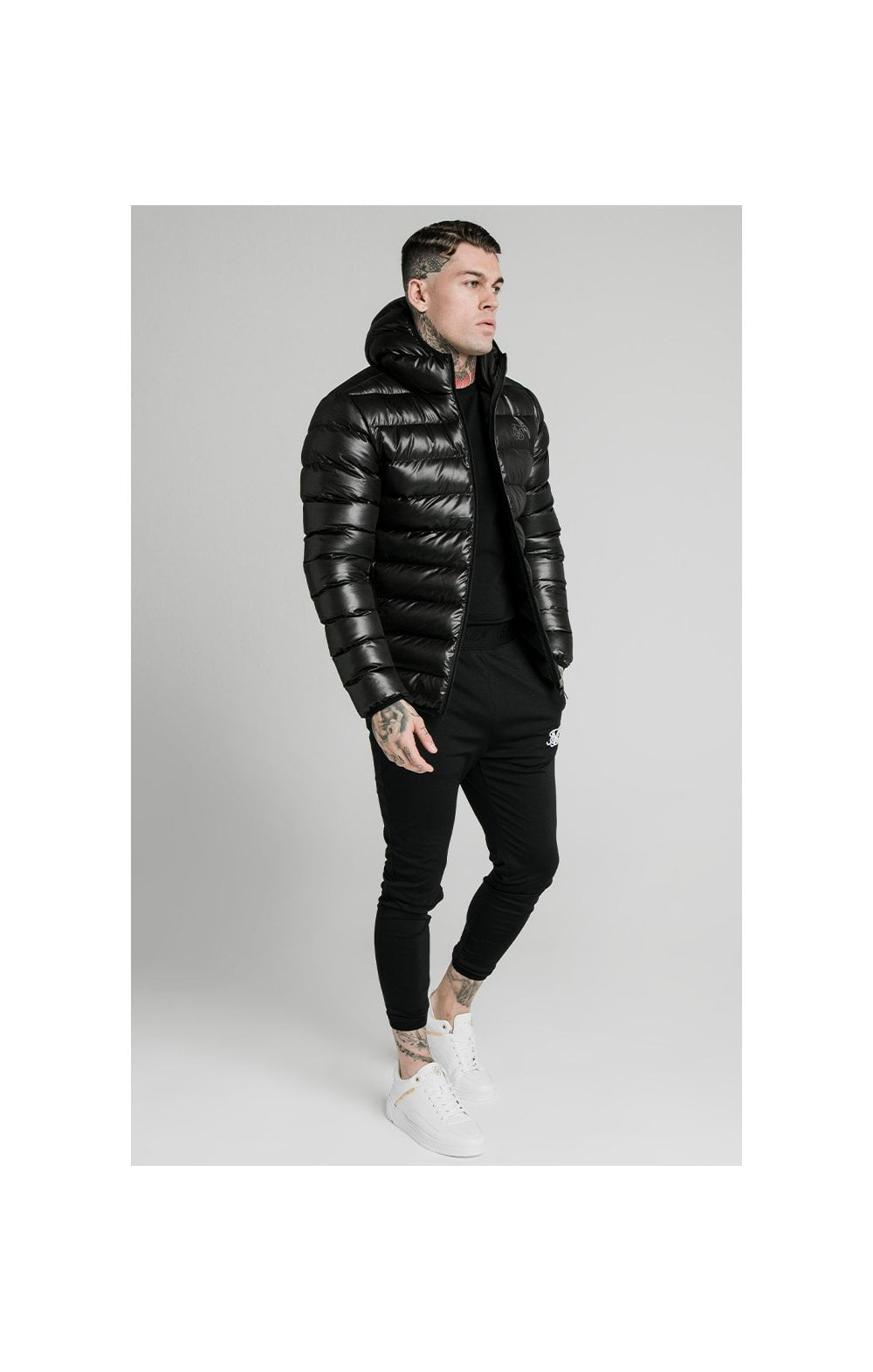 SikSilk Atmosphere Jacket - Black (4)
