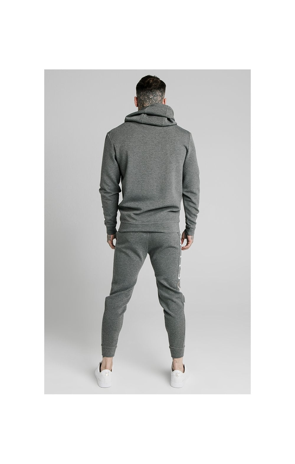 Load image into Gallery viewer, SikSilk Signature Overhead Hoodie - Grey (4)