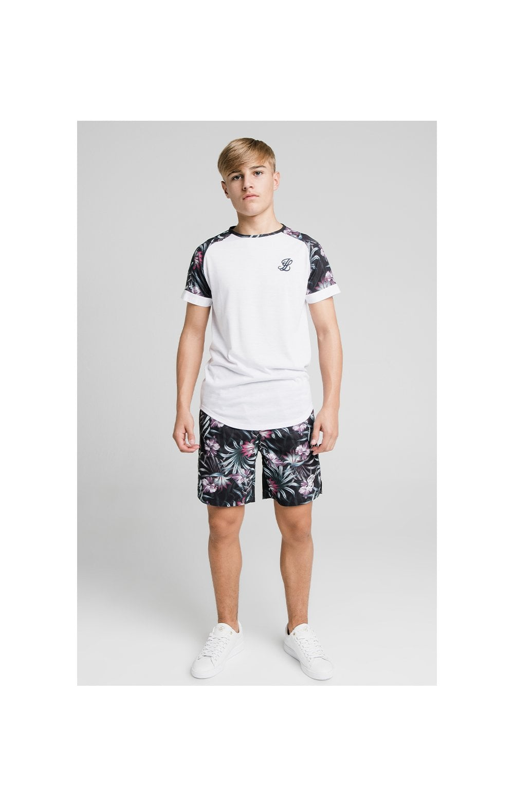 Illusive London Tropical Tee - White (2)