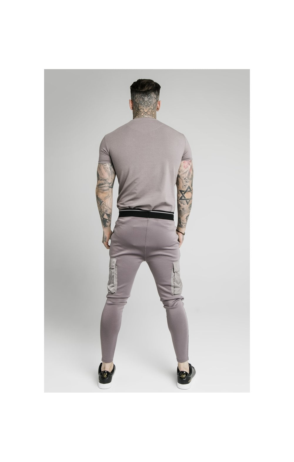 Load image into Gallery viewer, SikSilk S/S Gym Tee – Grey (3)