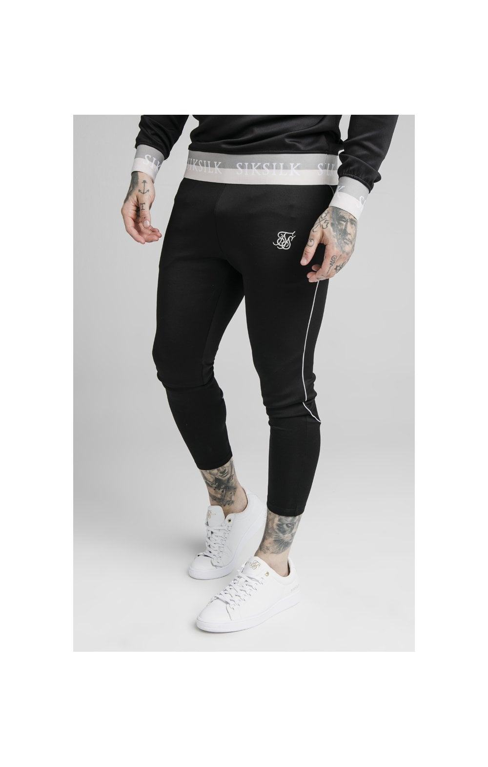 SikSilk Deluxe Agility Joggers – Black