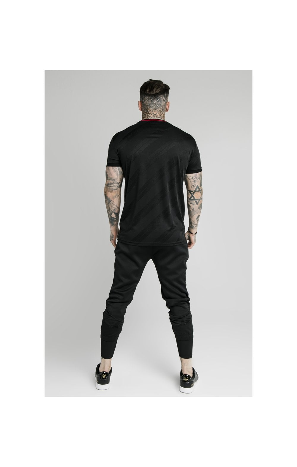 Load image into Gallery viewer, SikSilk Tranquil Dual Cuff Pants - Black & Grey (5)