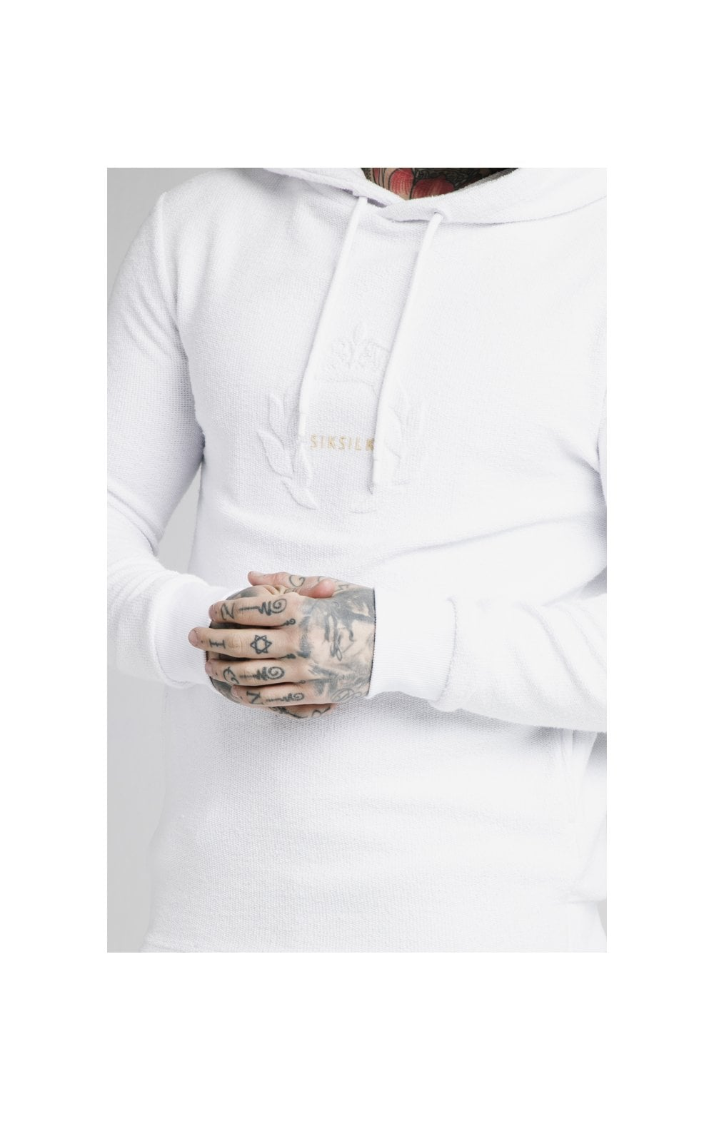SikSilk Element Overhead Hoodie - White (1)