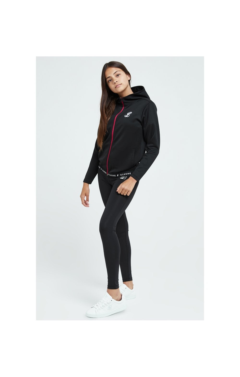 Load image into Gallery viewer, Illusive London Tape Track Jacket - Black (3)