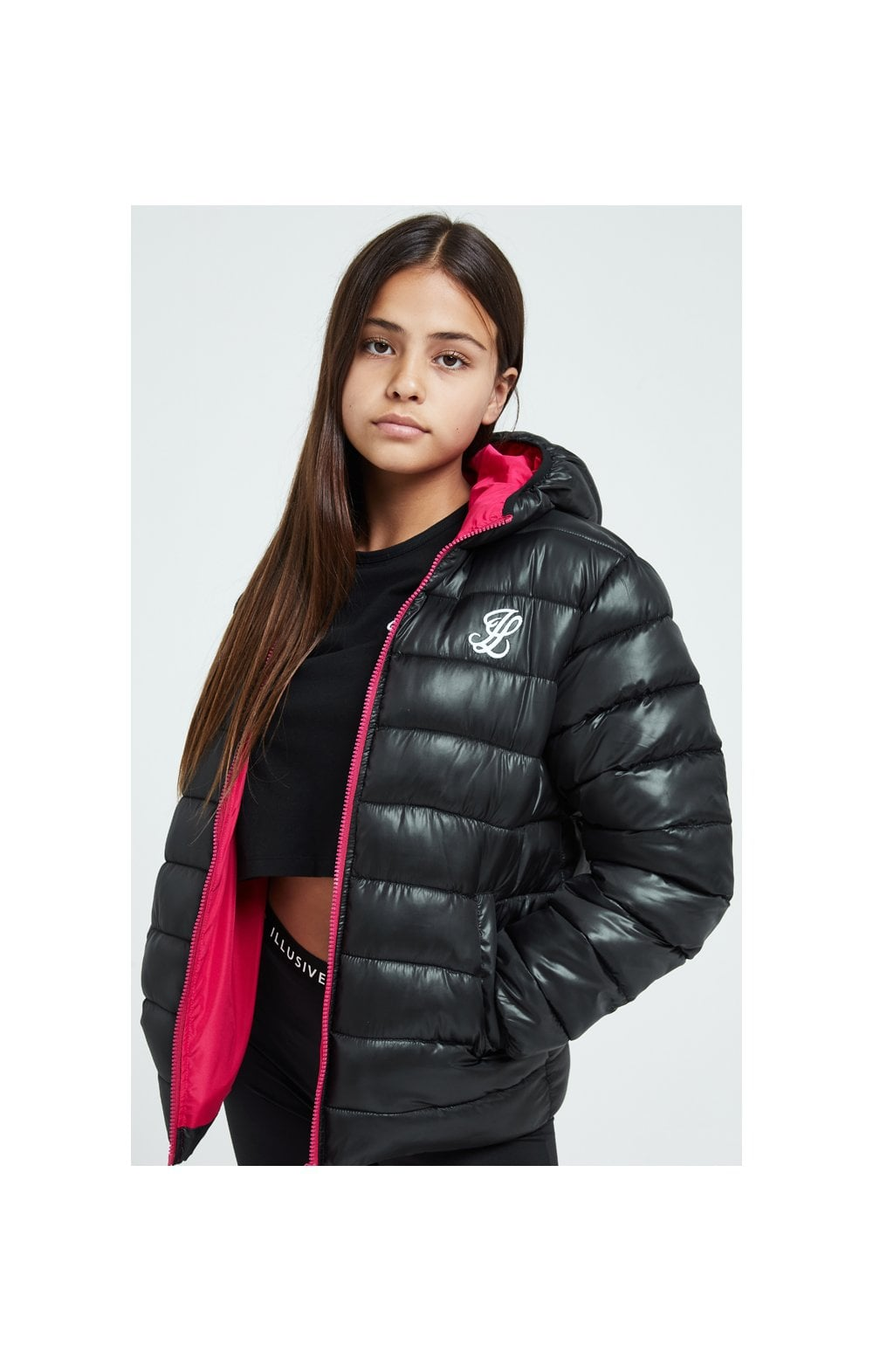 Illusive London Bubble Jacket - Black