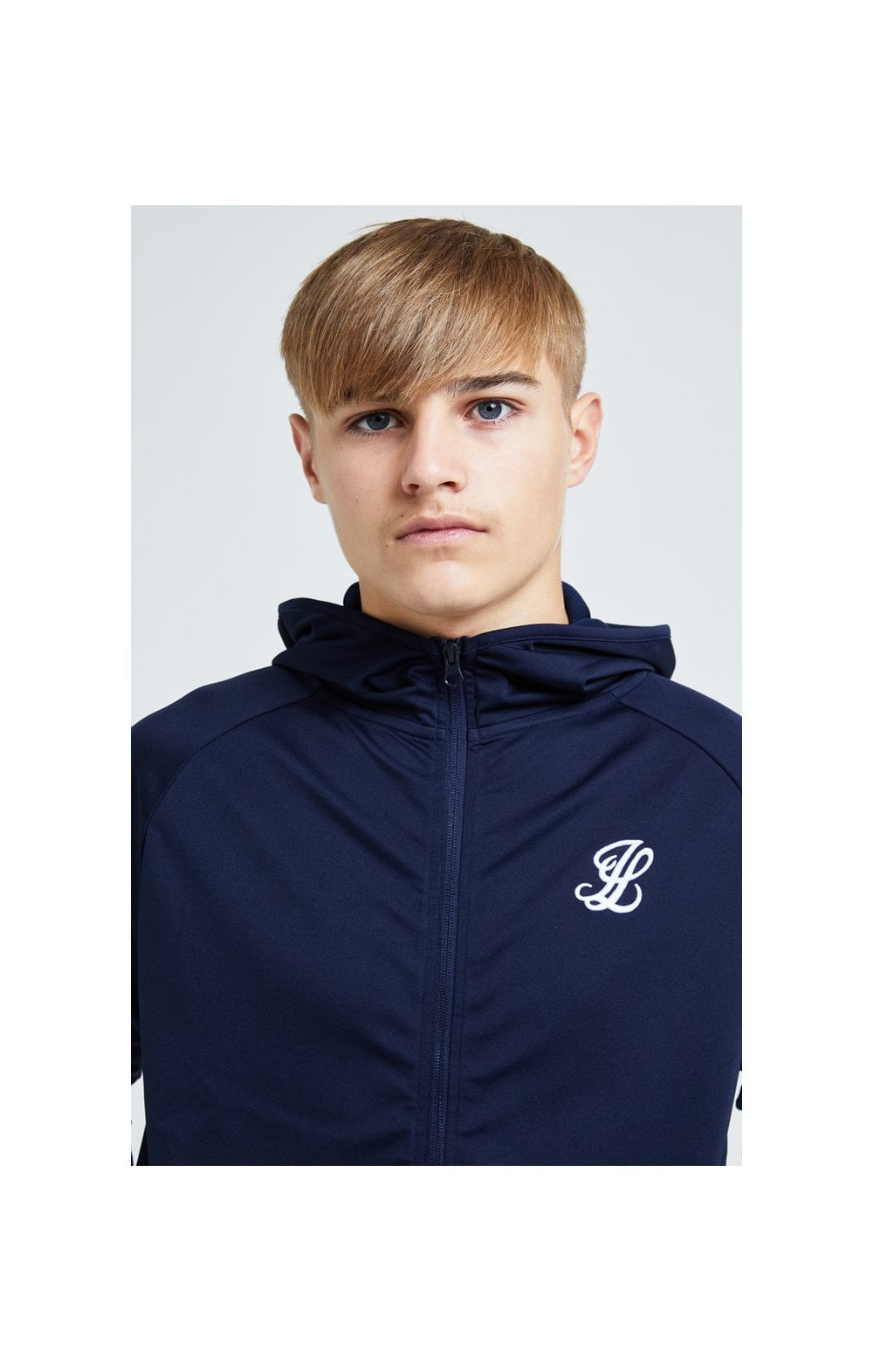 Load image into Gallery viewer, Illusive London Core Athlete Hoodie - Navy (1)