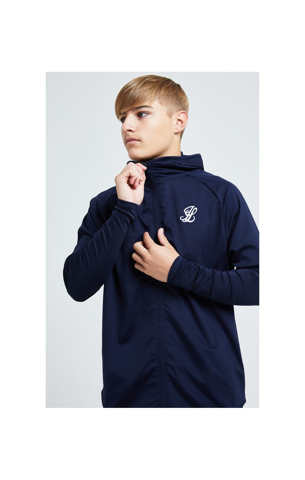 Load image into Gallery viewer, Illusive London Core Athlete Hoodie - Navy (2)
