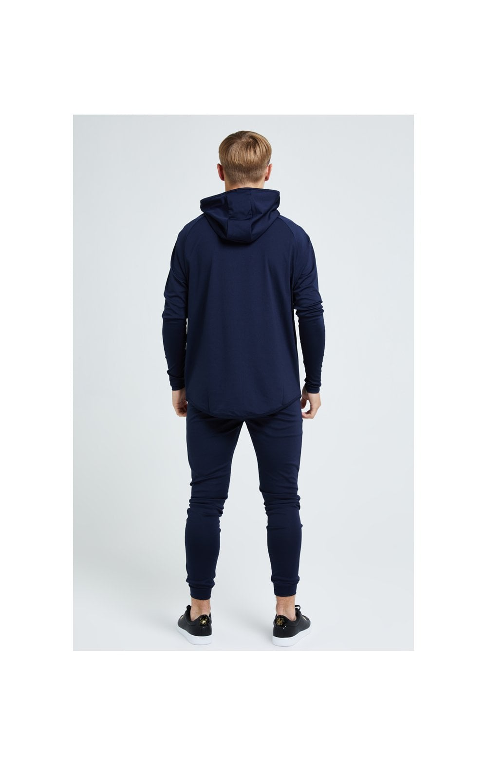 Load image into Gallery viewer, Illusive London Core Athlete Hoodie - Navy (5)