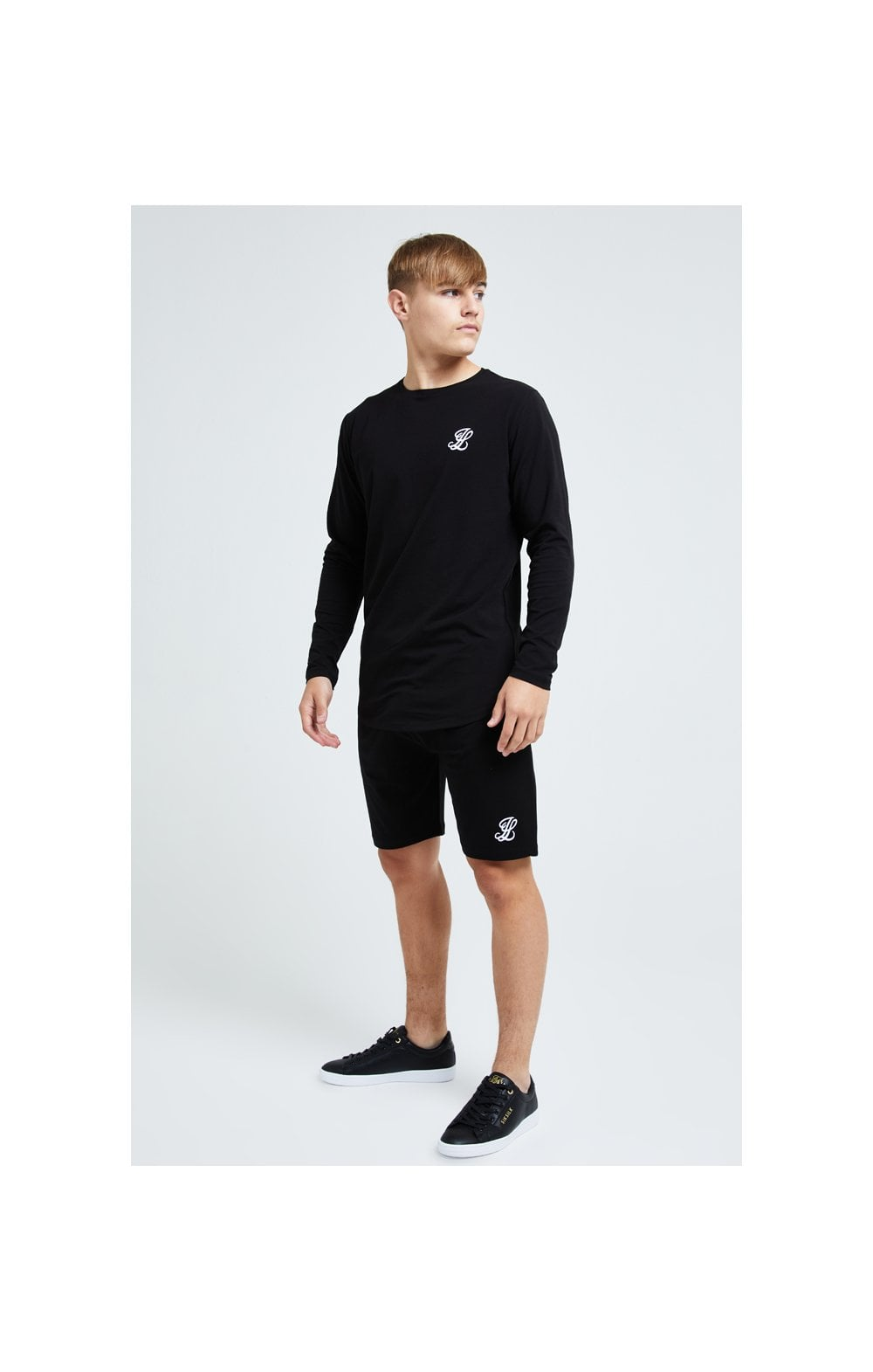 Illusive London L/S Core Tee - Black (2)