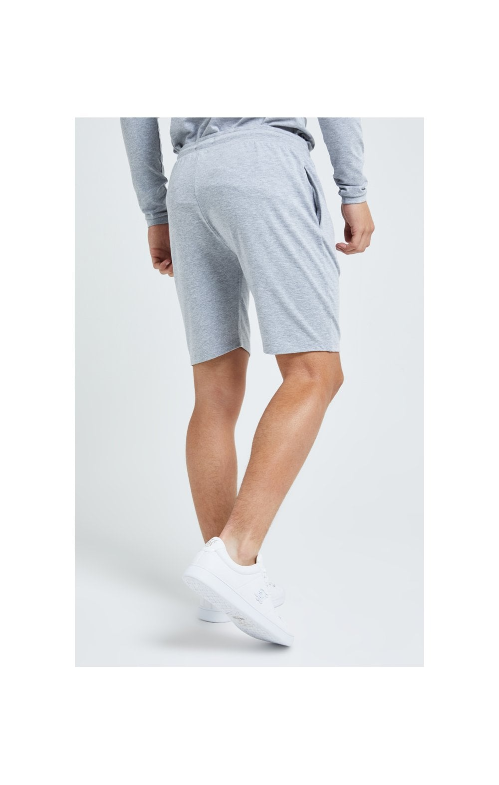 Illusive London Core Jersey Shorts - Grey Marl (5)