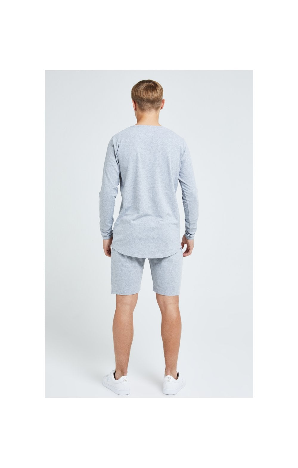 Illusive London Core Jersey Shorts - Grey Marl (6)