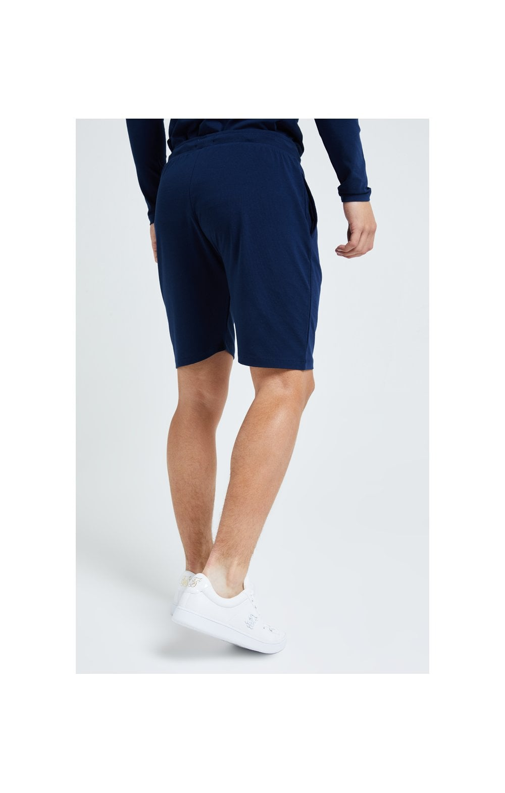 Illusive London Core Jersey Shorts - Navy (4)