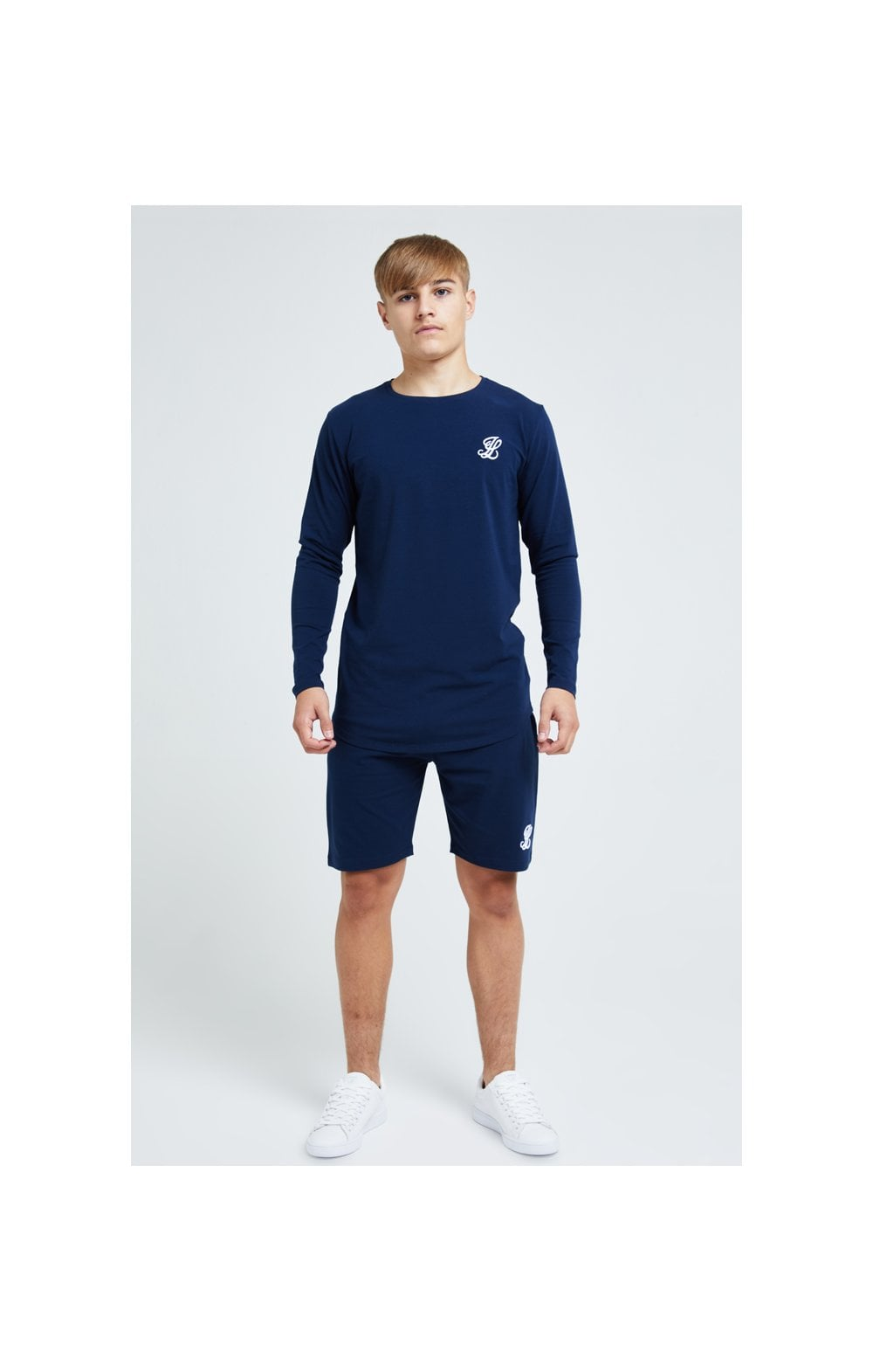 Illusive London Core Jersey Shorts - Navy (5)