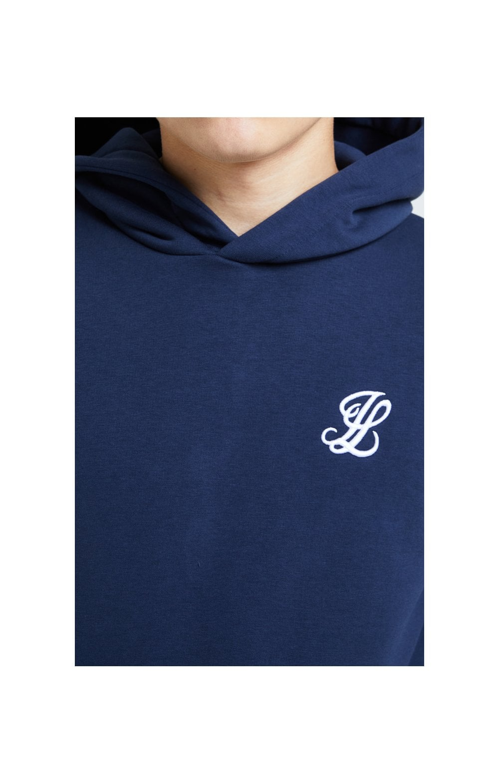 Load image into Gallery viewer, Illusive London Core Overhead Hoodie - Navy (1)