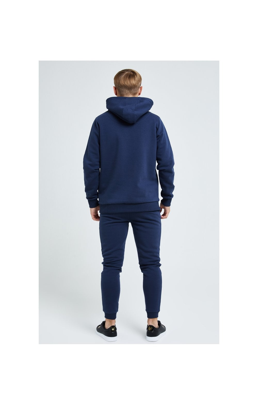 Load image into Gallery viewer, Illusive London Core Overhead Hoodie - Navy (5)
