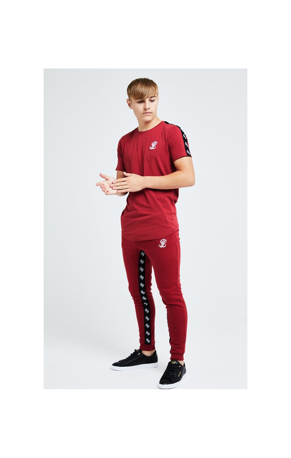 Illusive London Gravity Tape Tee - Red (2)