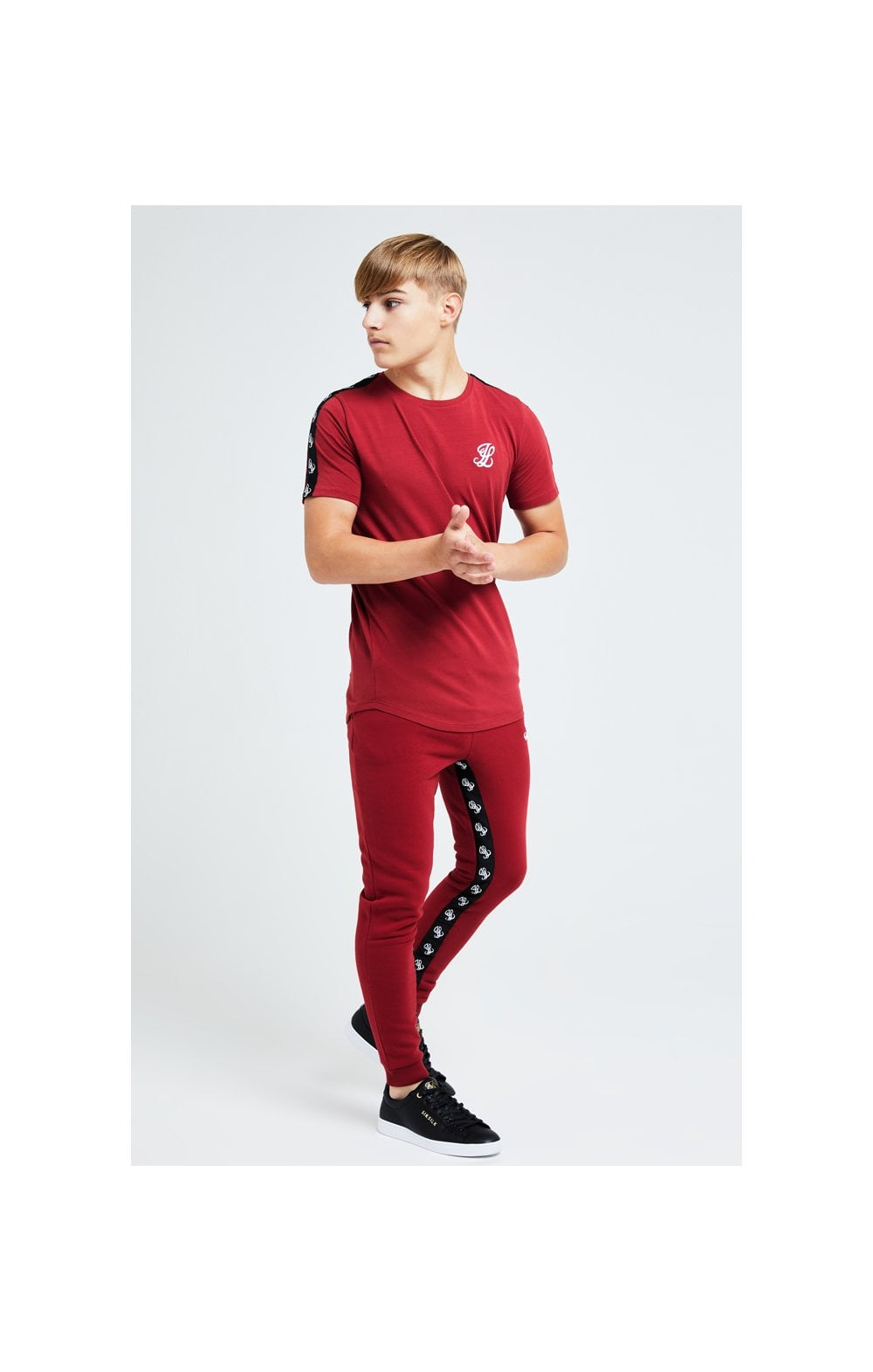 Illusive London Gravity Tape Tee - Red (3)