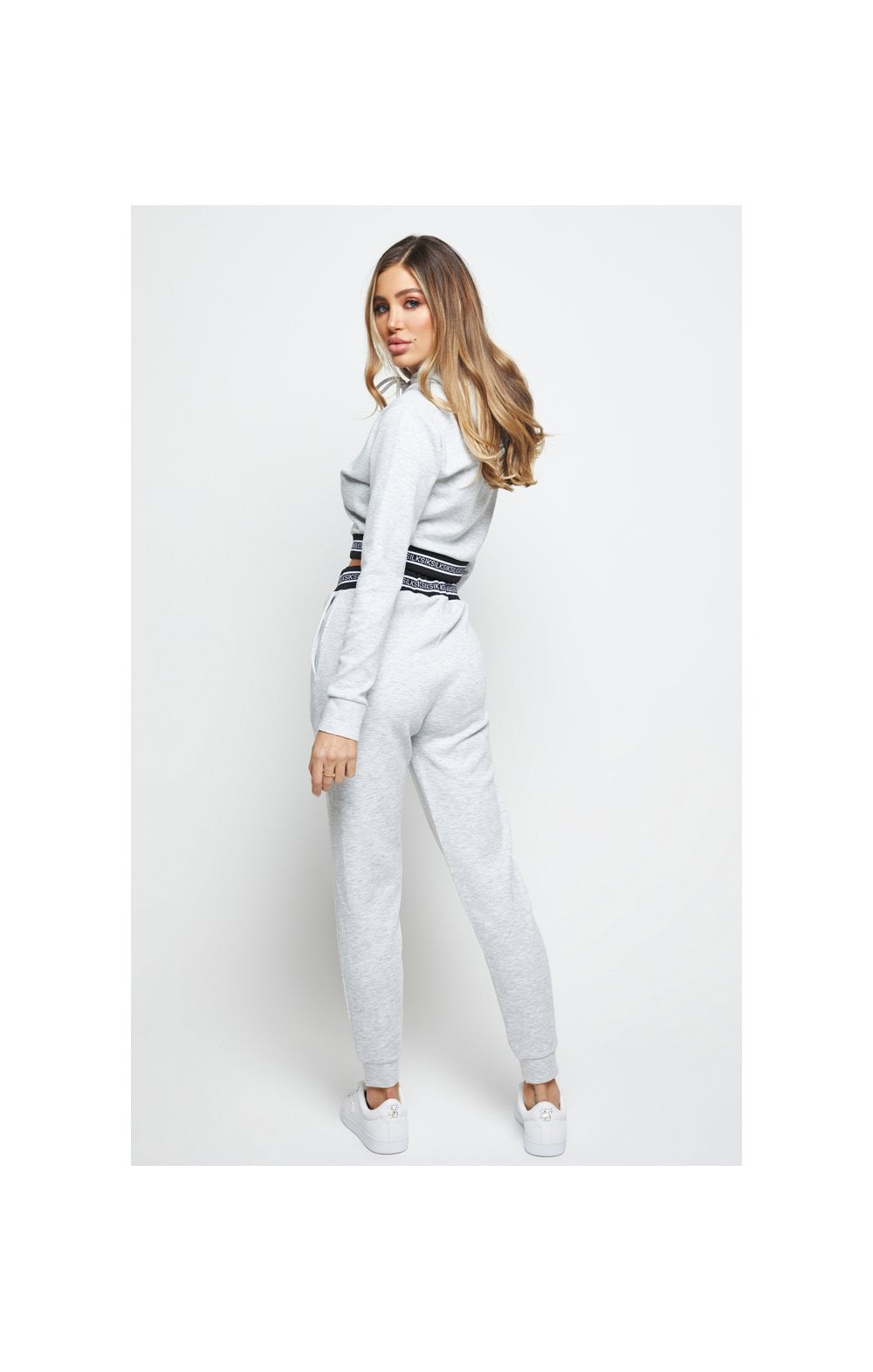 Load image into Gallery viewer, SikSilk Element Track Pants - Grey Marl (5)