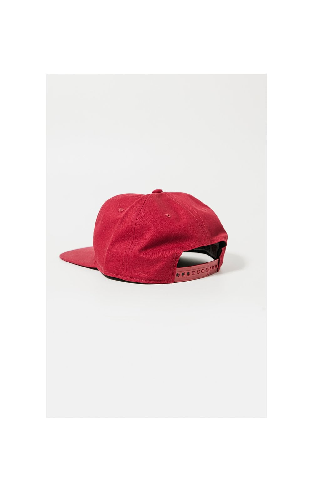 SikSilk Cotton Snap Back - Red (3)