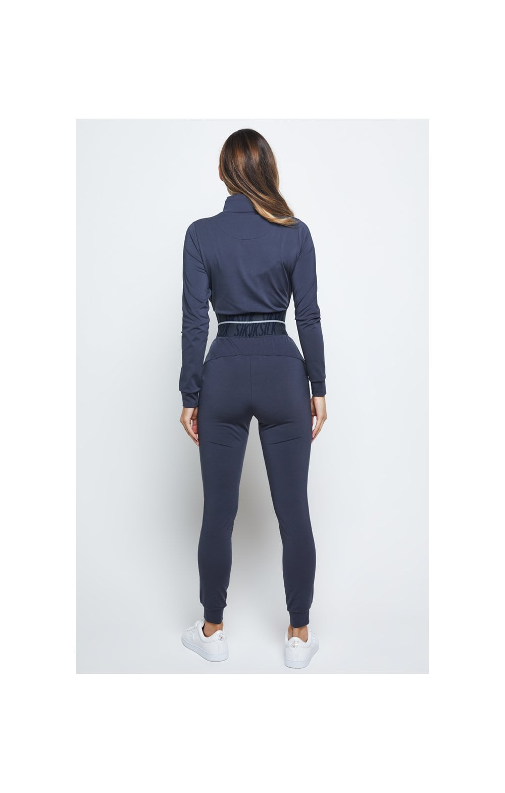 SikSilk Gravity Track Top - Navy (4)