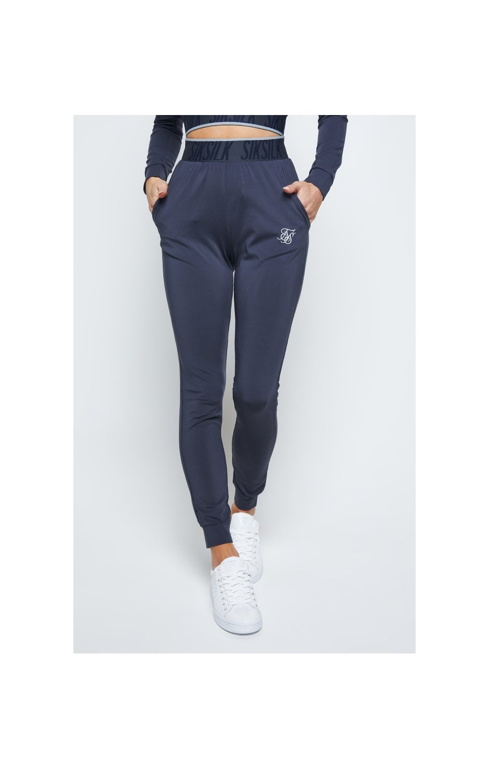 SikSilk Gravity Track Pants - Navy