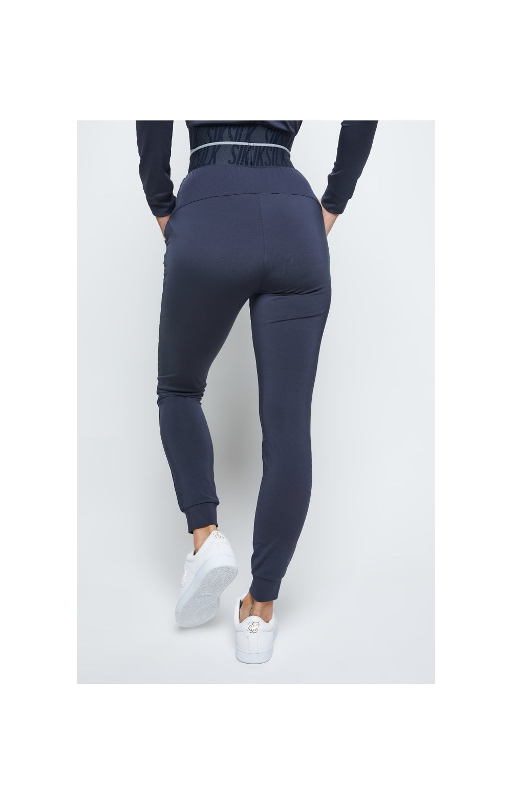 SikSilk Gravity Track Pants - Navy (2)