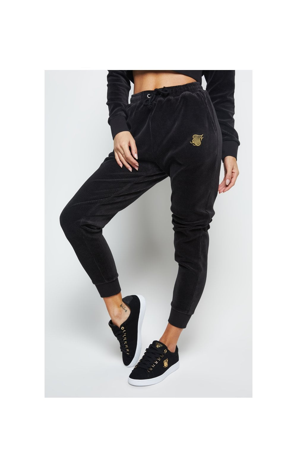 SikSilk Allure Joggers - Black