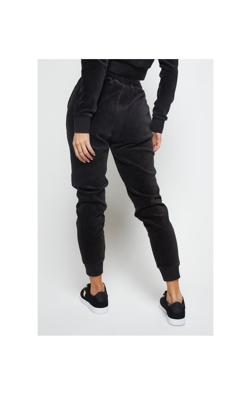 SikSilk Allure Joggers - Black (1)