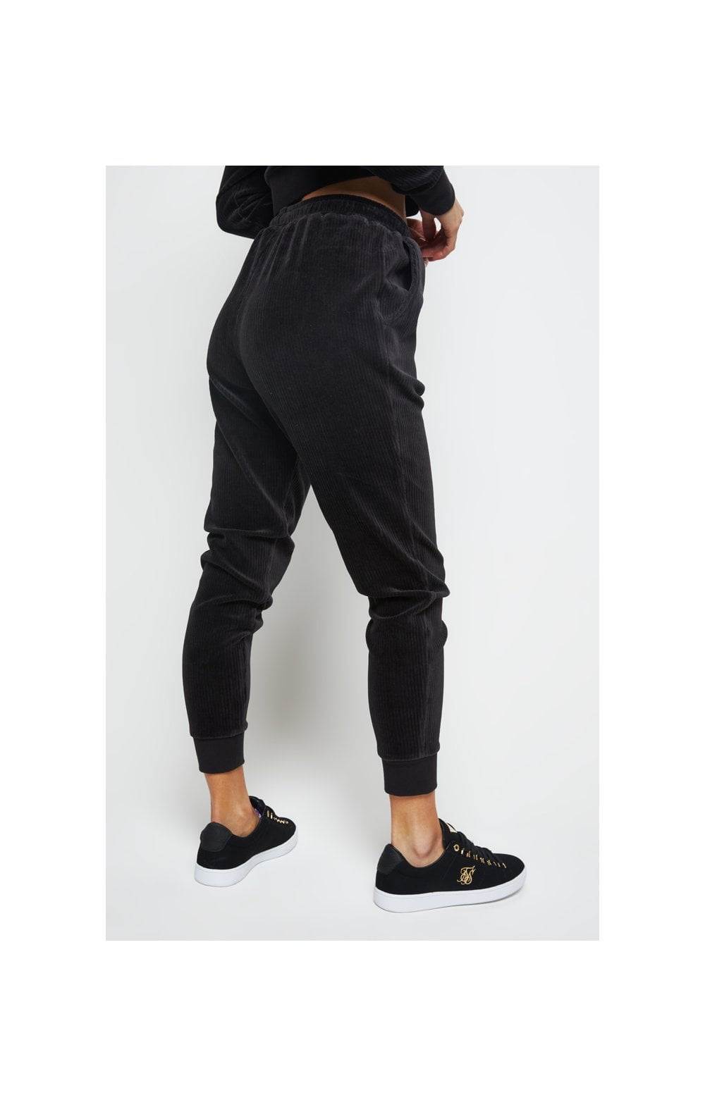 SikSilk Allure Joggers - Black (2)