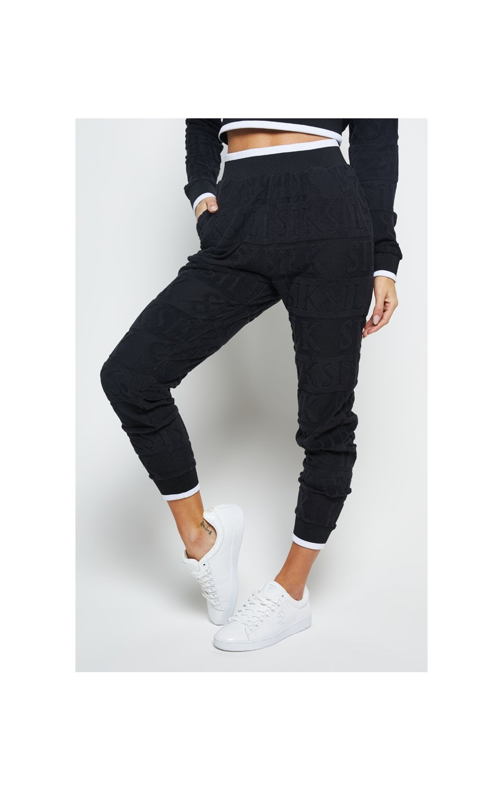 Load image into Gallery viewer, SikSilk Inverse Track Pants - Black