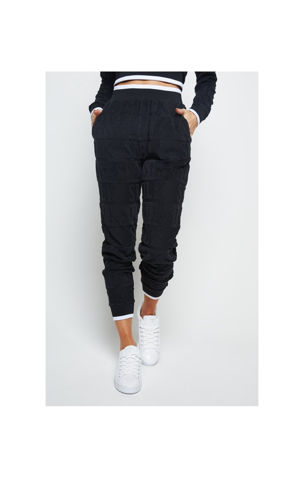 Load image into Gallery viewer, SikSilk Inverse Track Pants - Black (1)