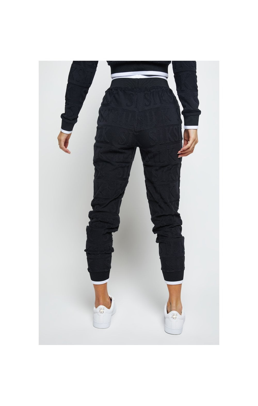 Load image into Gallery viewer, SikSilk Inverse Track Pants - Black (2)