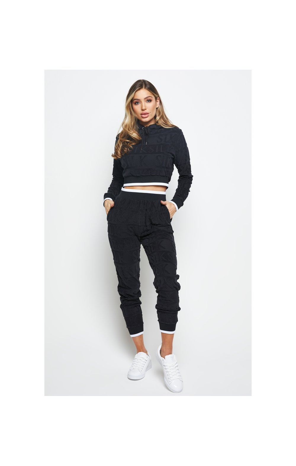 Load image into Gallery viewer, SikSilk Inverse Track Pants - Black (3)