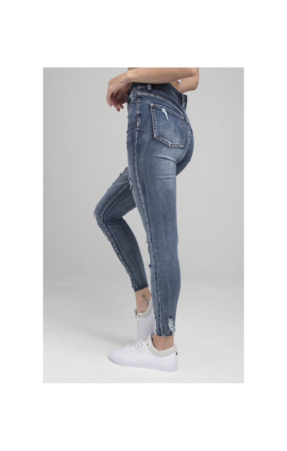 Load image into Gallery viewer, SikSilk Skinny Denims - Blue (2)