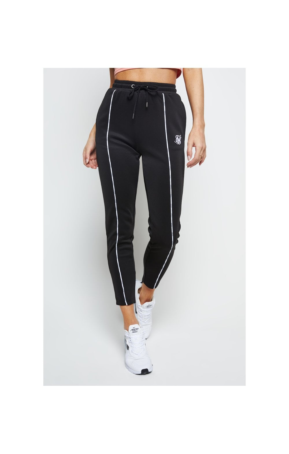 SikSilk Duality Track Pants – Black (2)