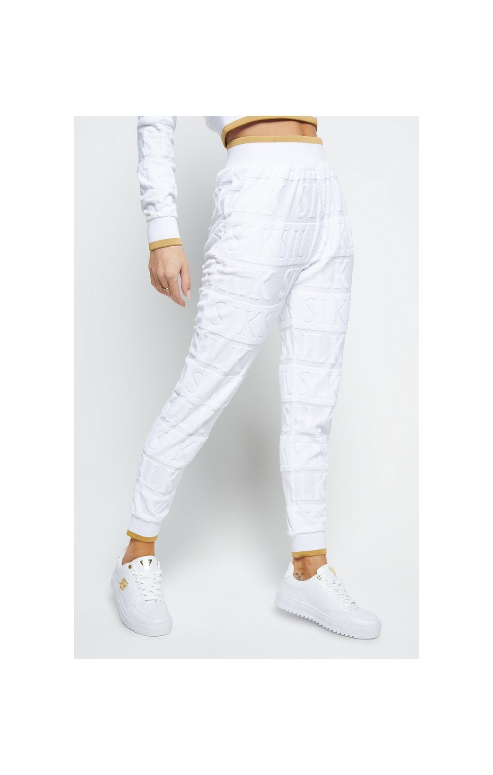SikSilk Inverse Track Pants - White (3)