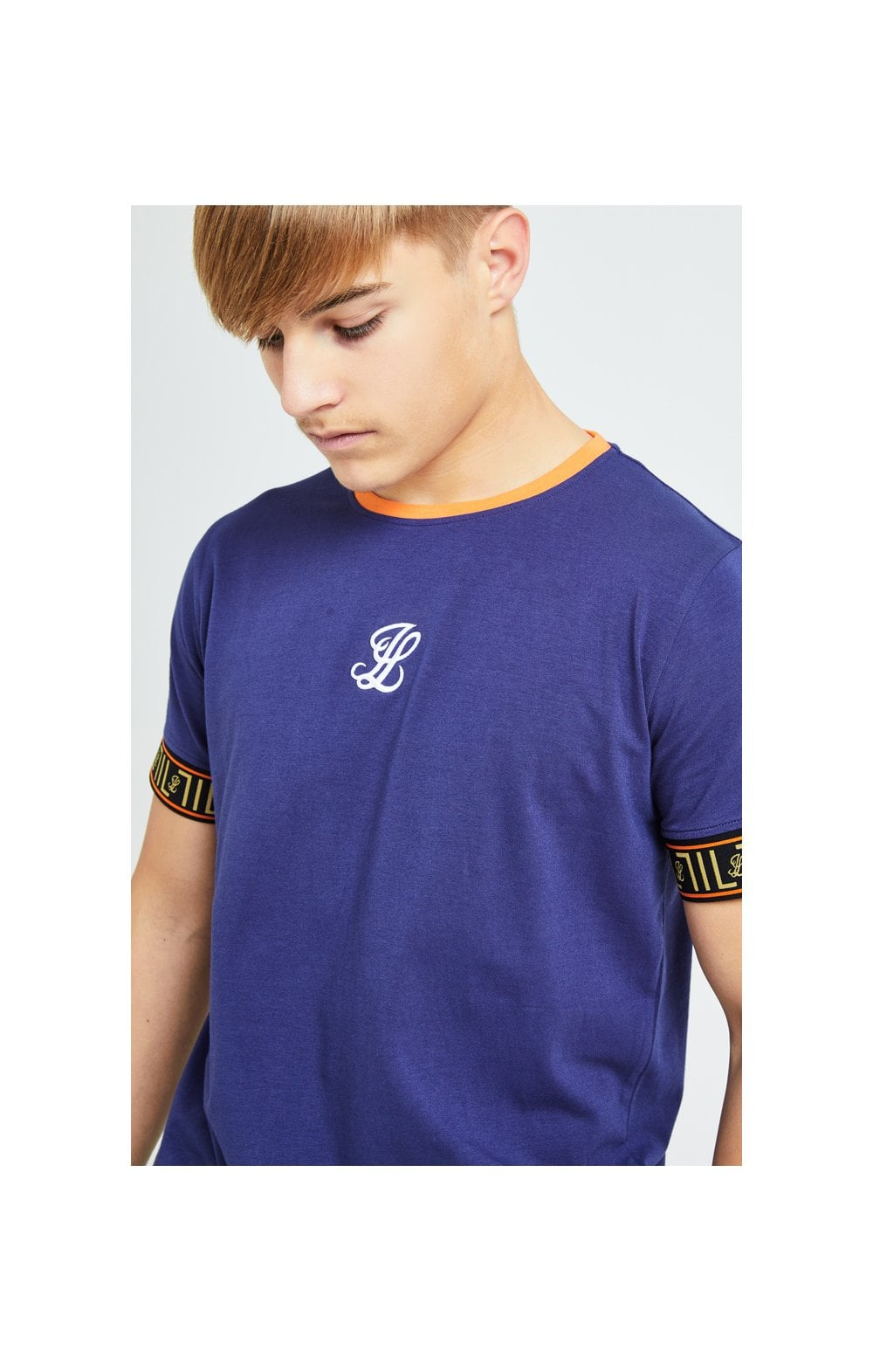 Illusive London Patriot Tech Tee - Blue & Orange