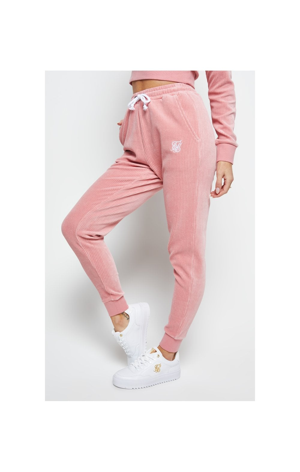 SikSilk Allure Joggers - Pink