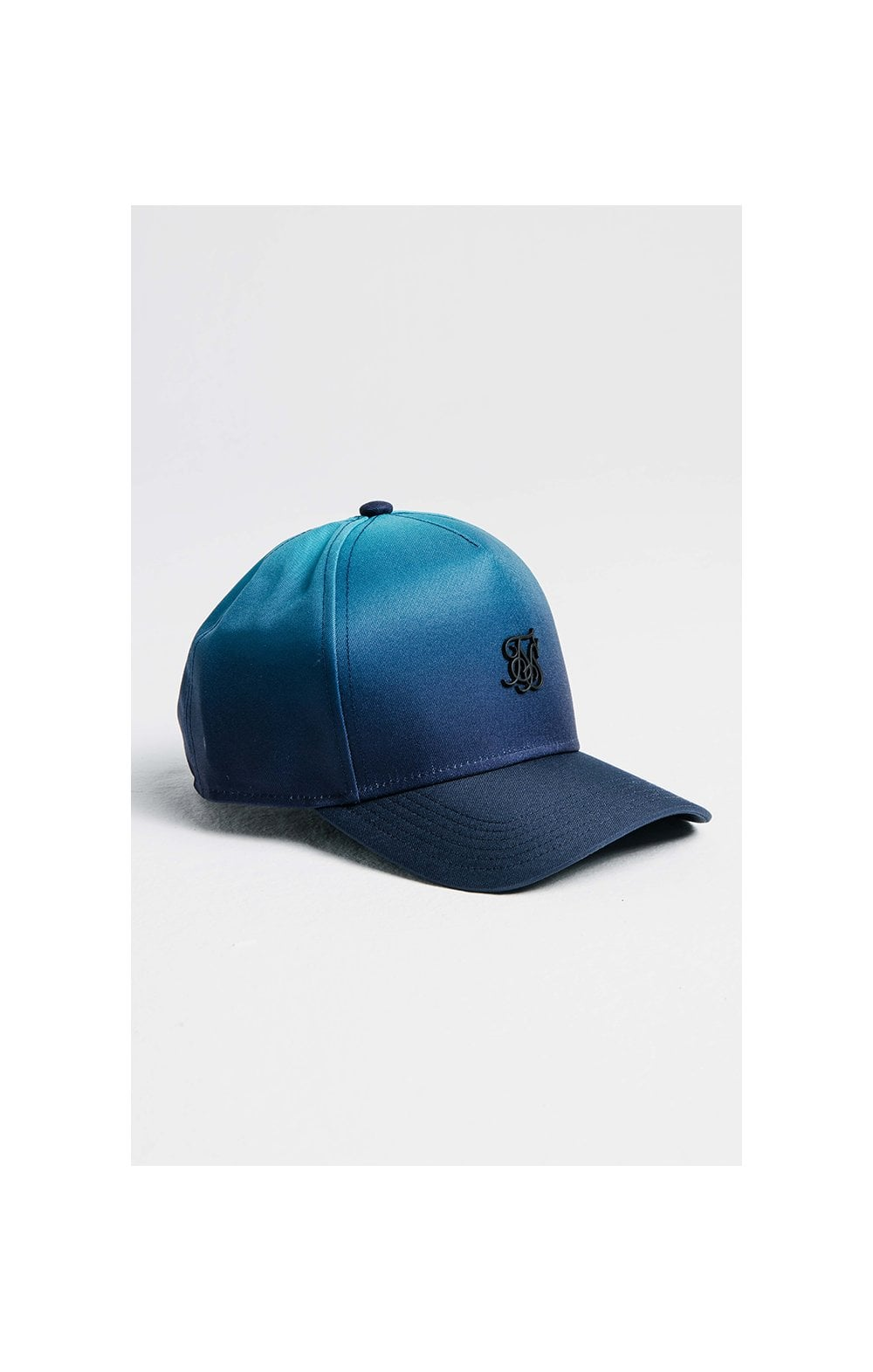 SikSilk Full Fade Trucker - Teal & Blue