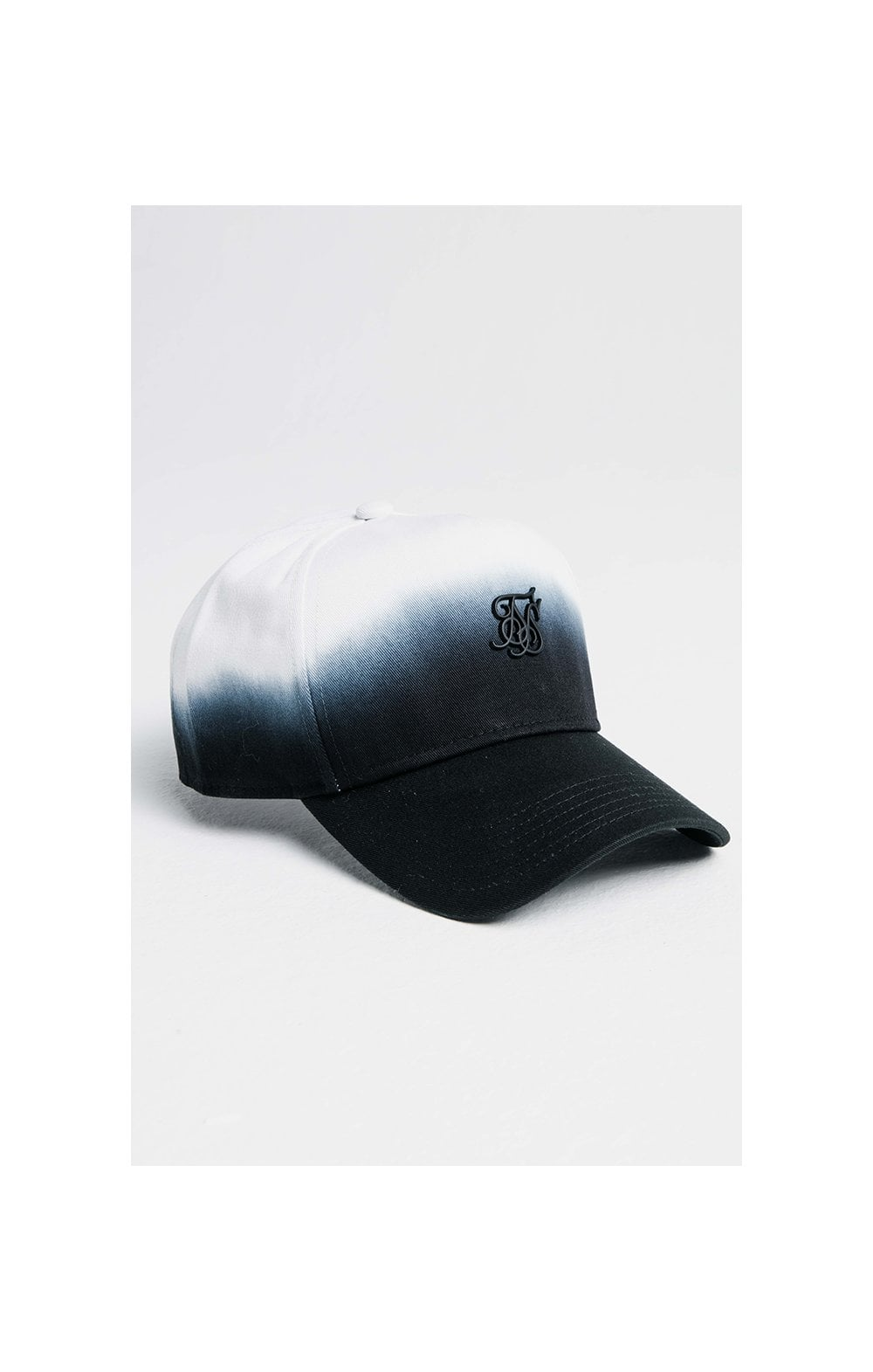 SikSilk Full Fade Trucker - Navy & White