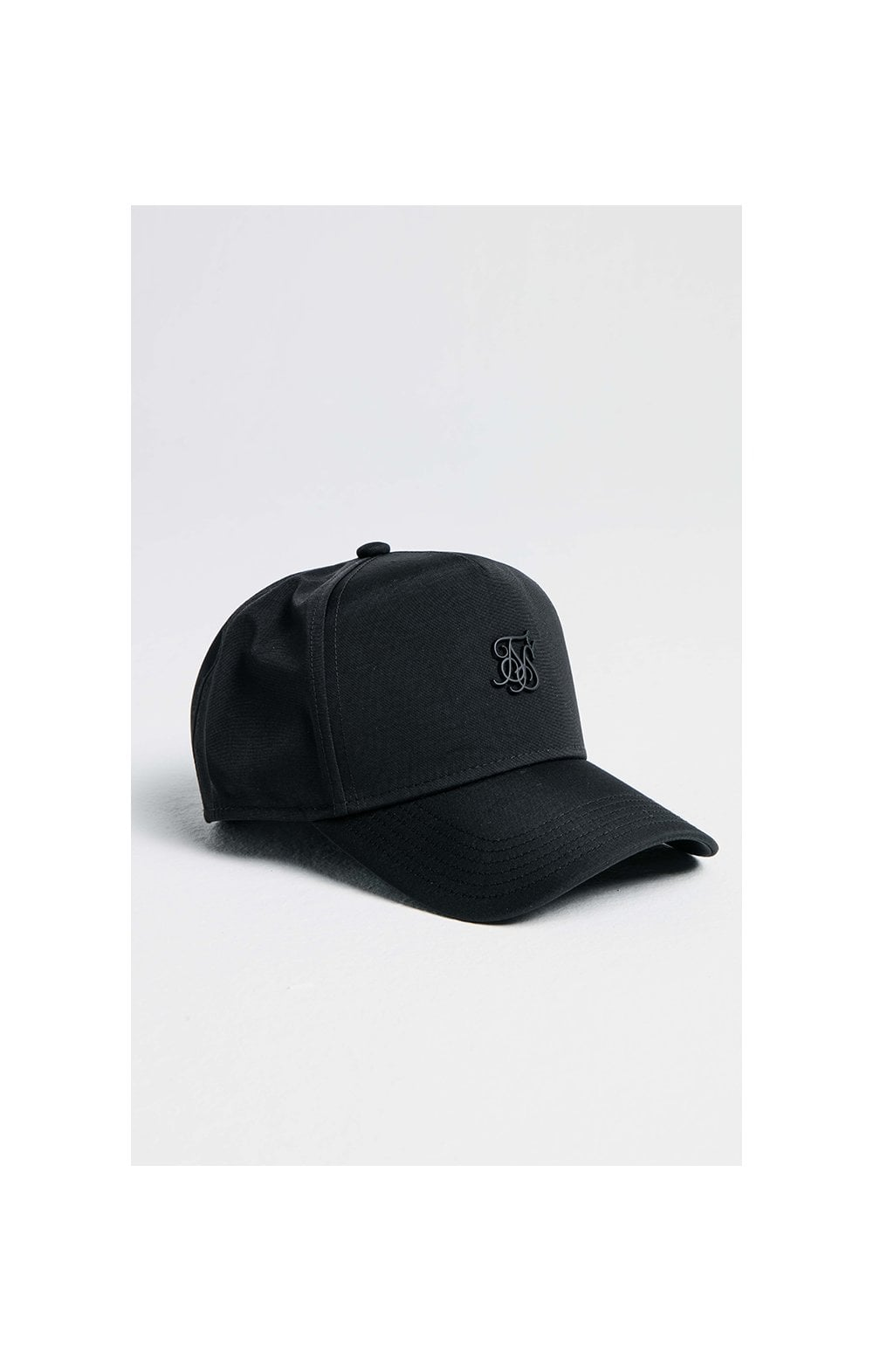 SikSilk Nylon Full Trucker - Black
