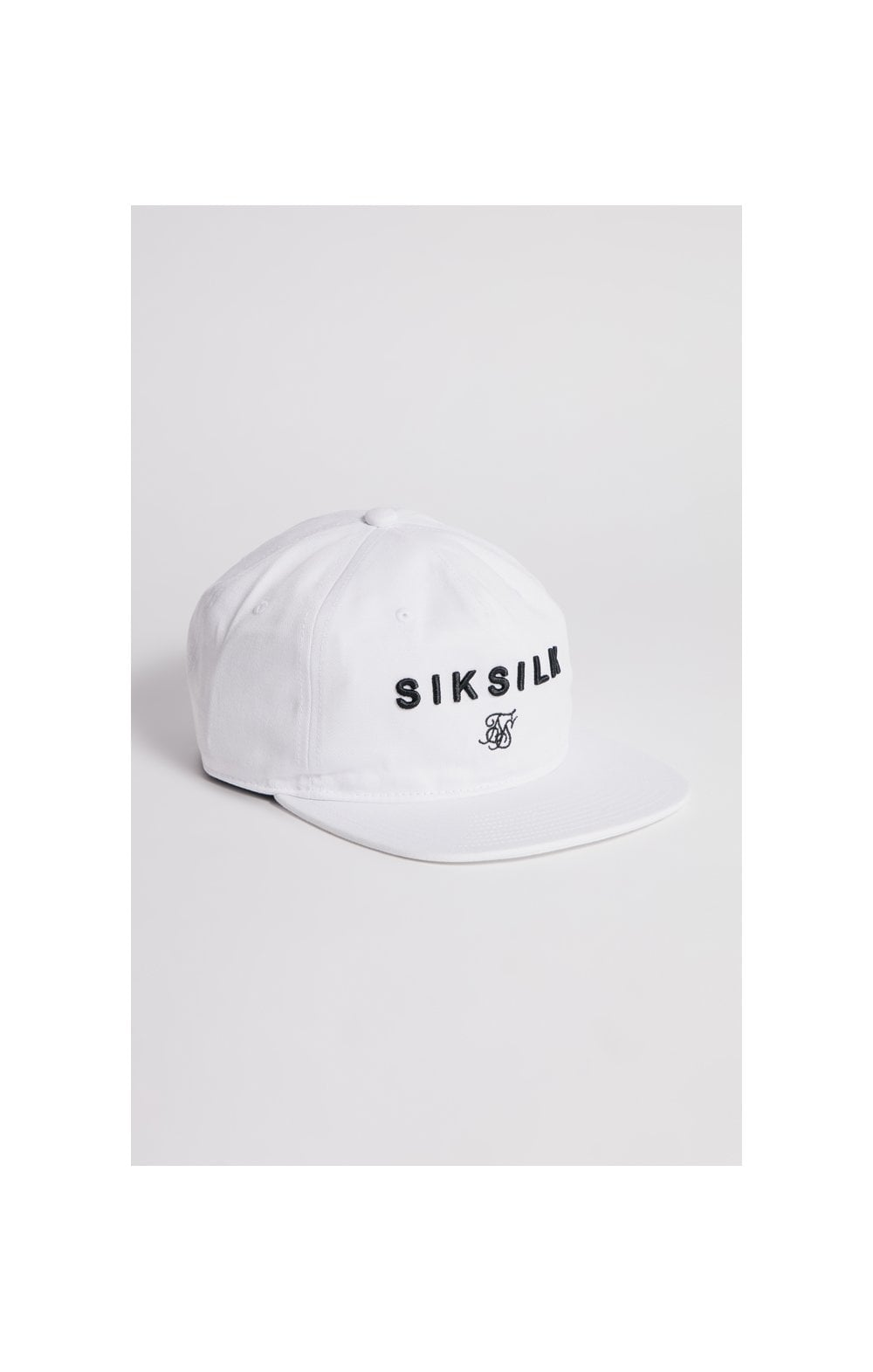 SikSilk Cotton Snap Back - White