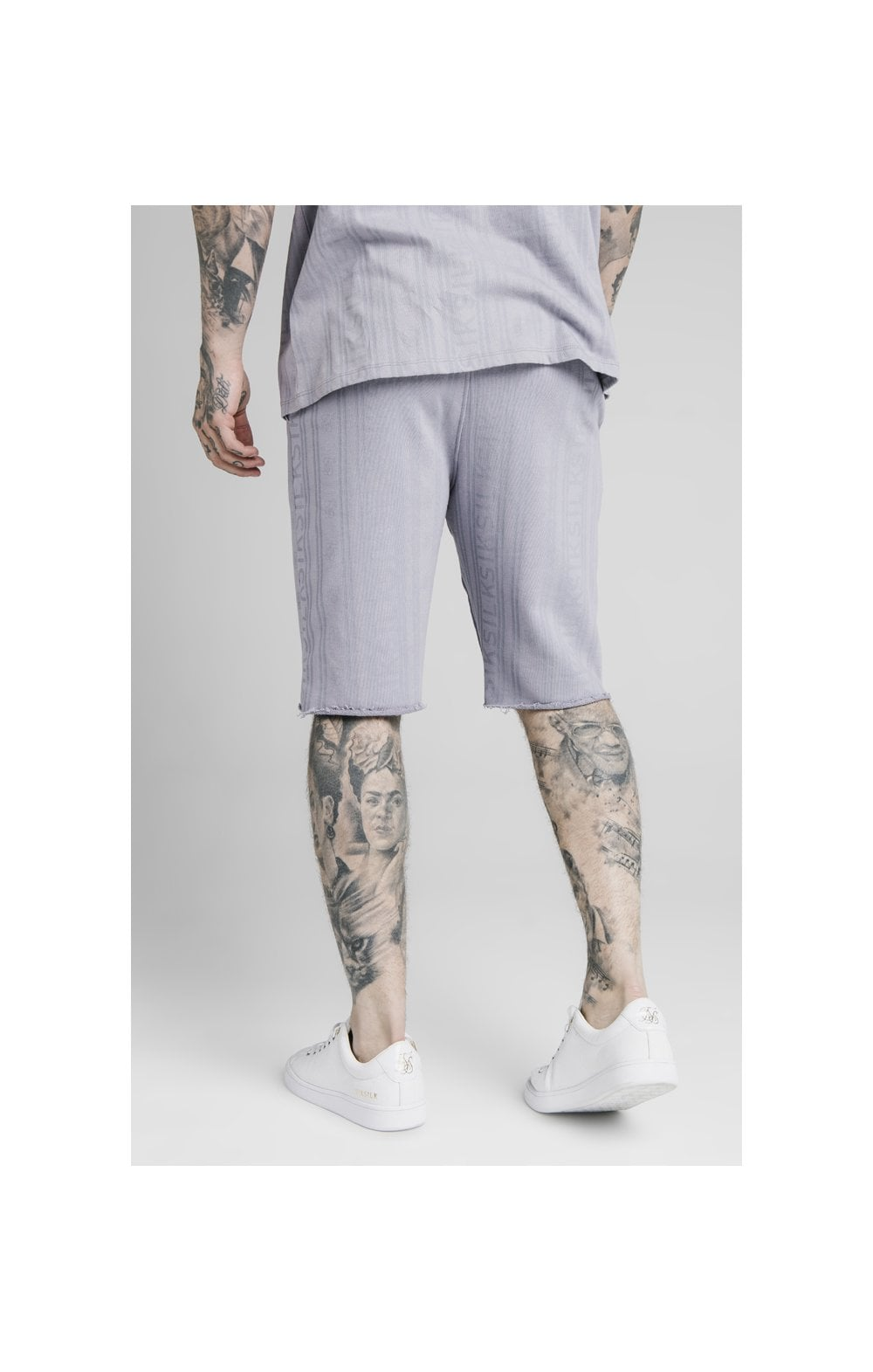 Load image into Gallery viewer, SikSilk Pastel Gym Shorts - Grey (1)