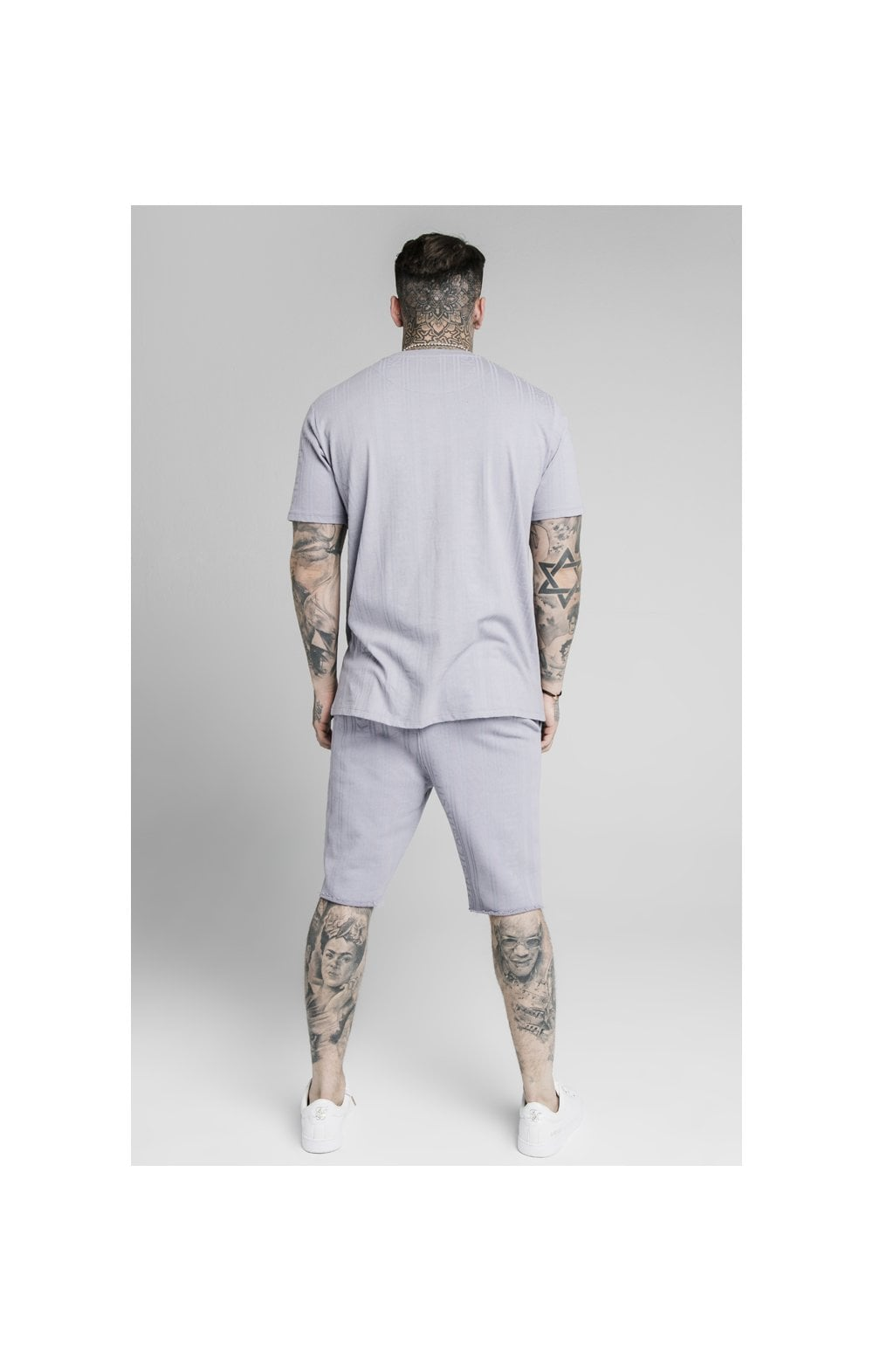 Load image into Gallery viewer, SikSilk Pastel Gym Shorts - Grey (4)